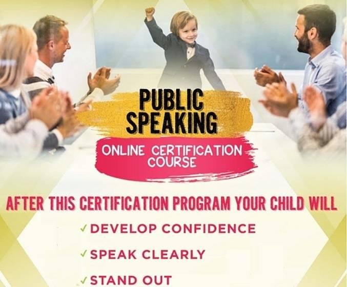 Free Public Speaking Trial Class for Children