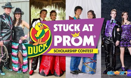 Teen Enters COVID-Themed Dress in Stuck at Prom Contest