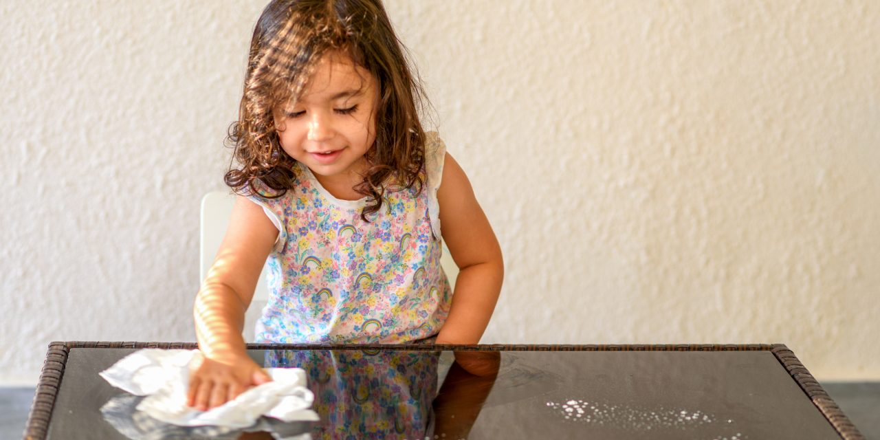 Get Kids Involved in Cleaning the House