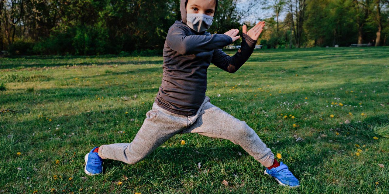 Low-cost Virtual Club Helps Kids Become 'Ninja Warriors'