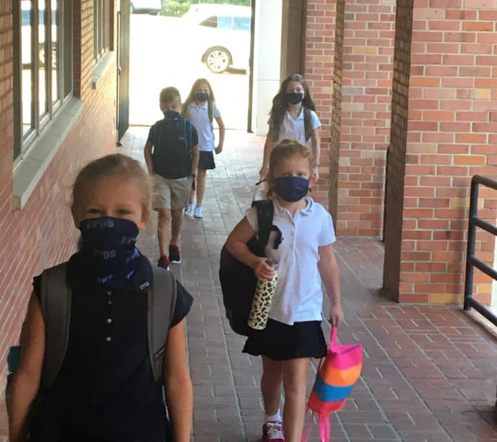 First Day of School in FPDS in Jackson, MS