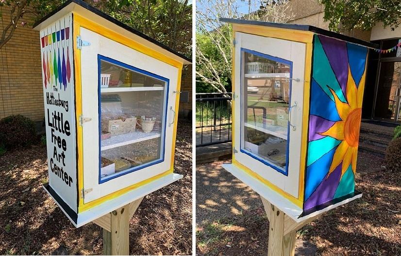 Hattiesburg Little Free Art Center Now Open