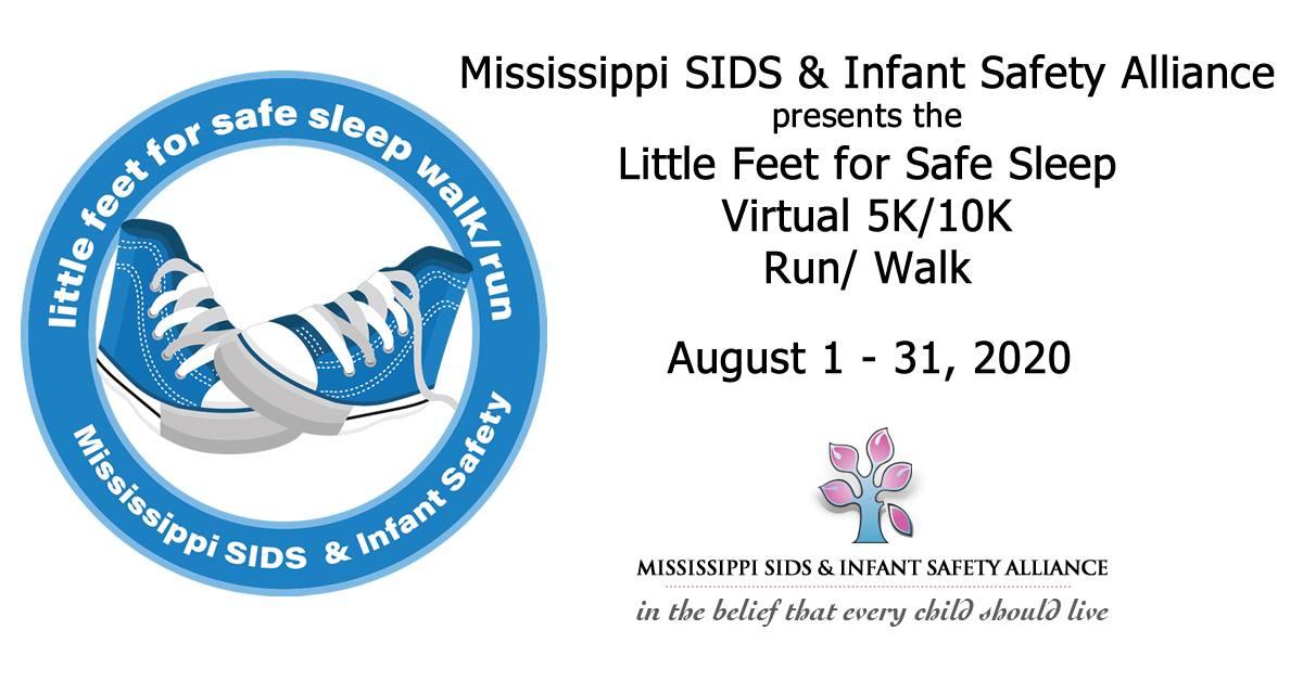 Little Feet For Safe Sleep Virtual Walk/Run