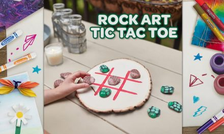 Make a Tic-Tac-Toe Set With Nature