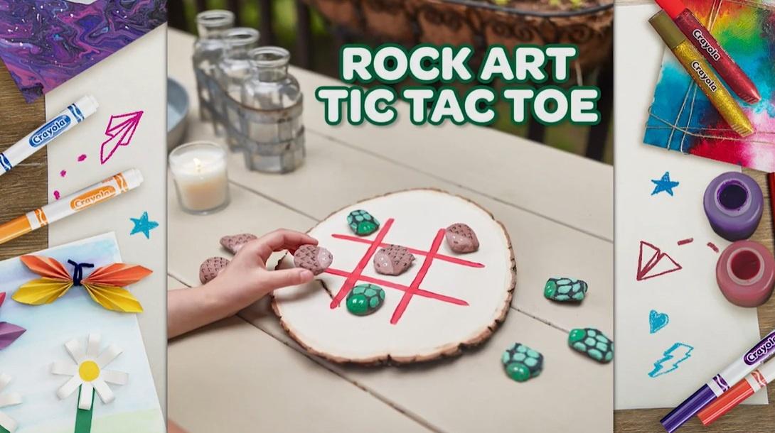 Make a Tic-Tac-Toe Set With Nature