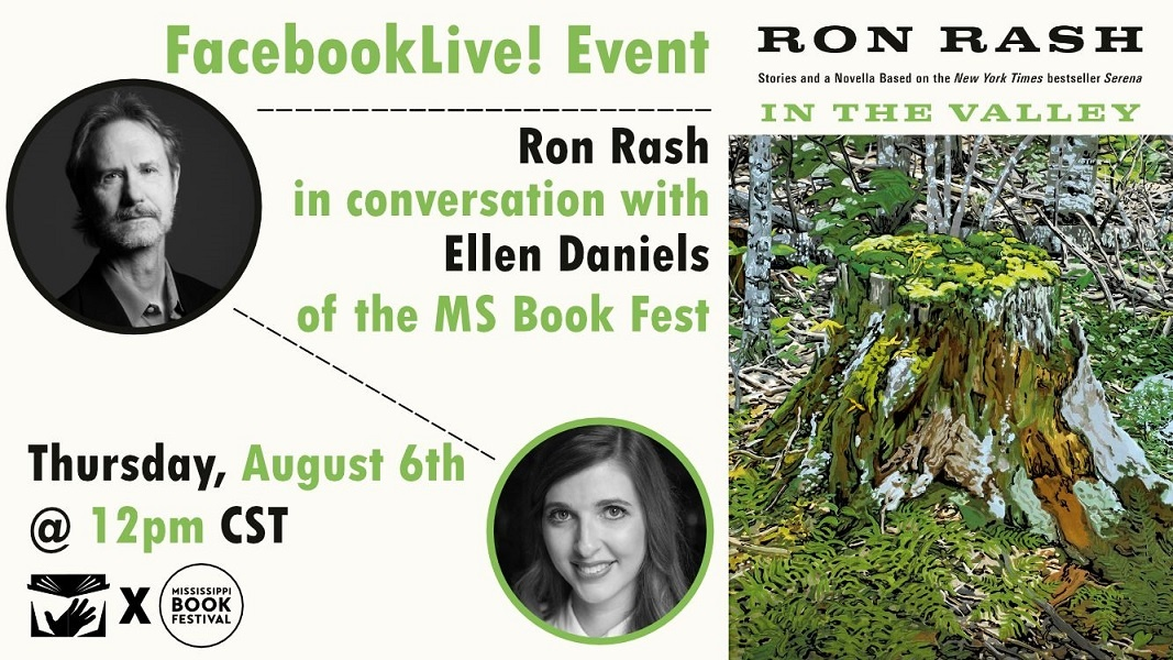 Facebook Live with Ron Rash