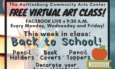 Free Virtual Art Classes From Hattiesburg