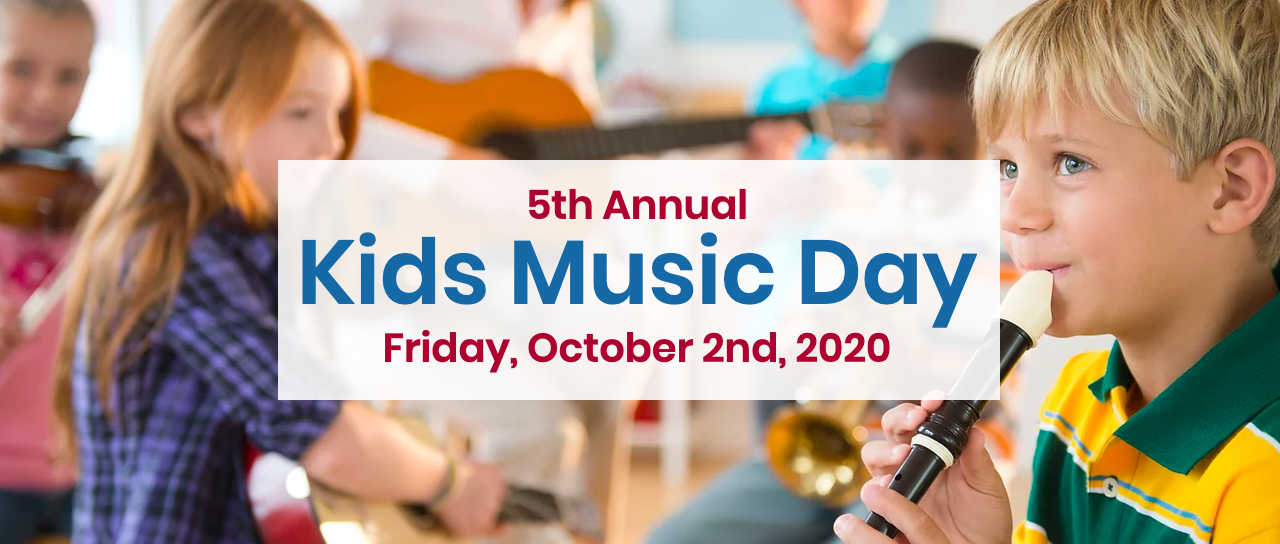 Kids Music Day in October