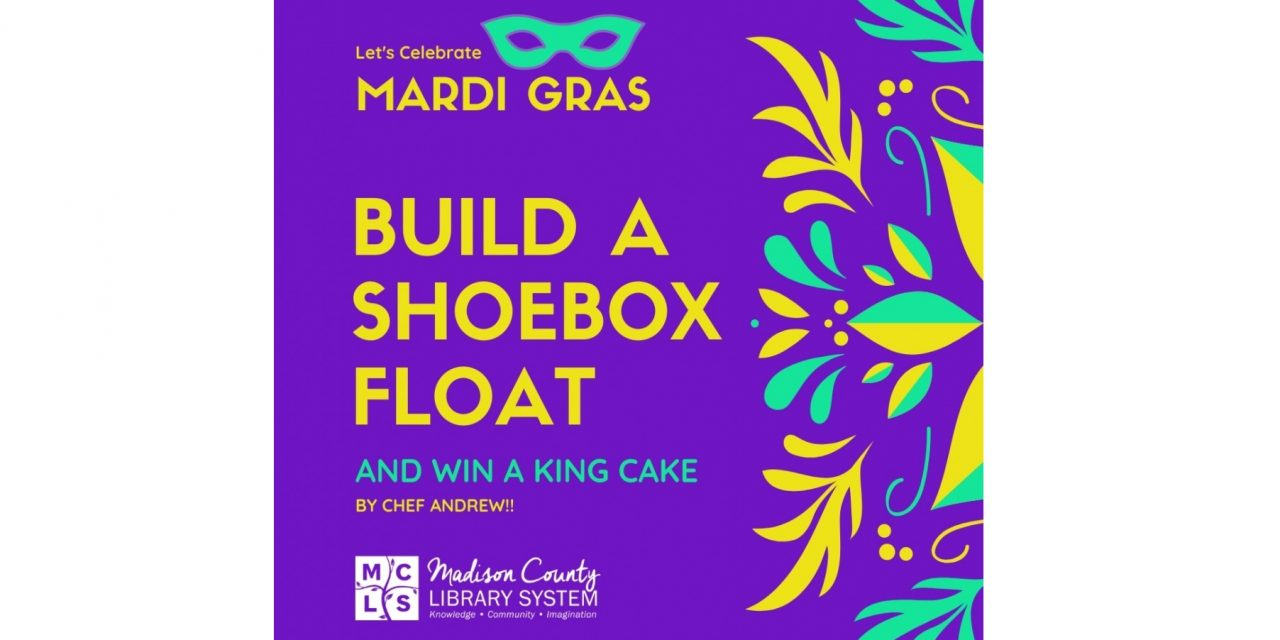 Win a King Cake by Chef Andrew