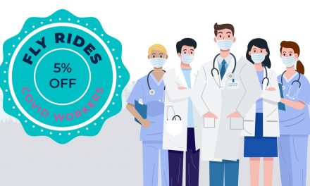 Fly Rides USA Offers Discount to Healthcare Workers